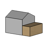 Single Storey Extension Icon
